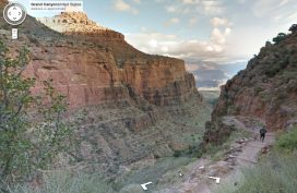 StreetView im Grand Canyon
