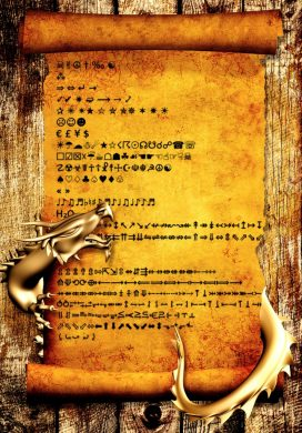 Unicode-Auswahl für Mails und Blogs